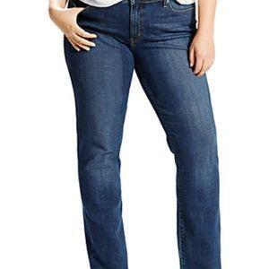 Levi's Classic Straight Plus Size Jeans...20 W S